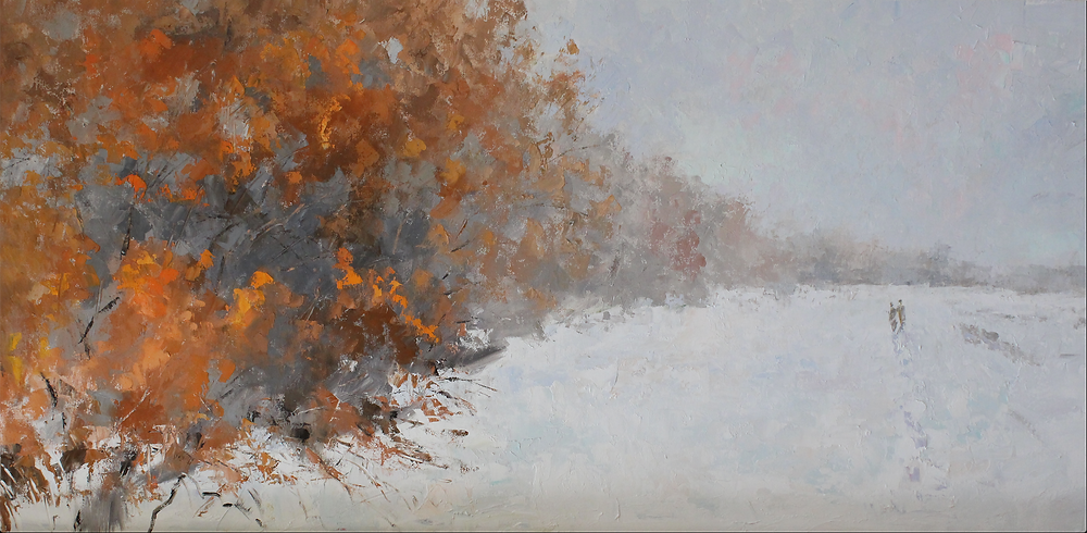'Dreamland' 24x48, oil by Troy Collins
