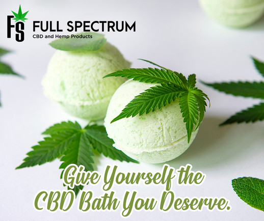 CBD Bath Ad