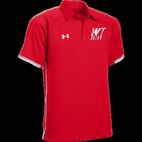 WTElite Red Polo Shirt