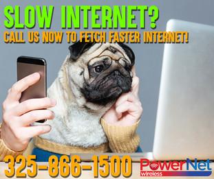 Slow Internet Pug Ad