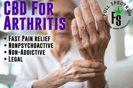 CBD For Arthritis Ad