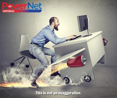 Fast Internet Ad