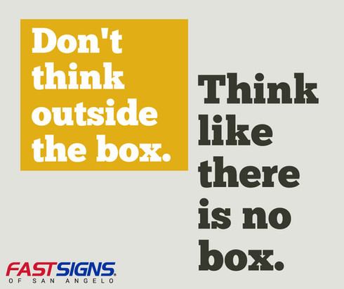 Think-Outside-the-Box Ad