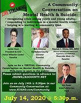 0714 Community Conversation - MH&Suicide