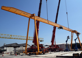 Our New Travelling Gantry Crane