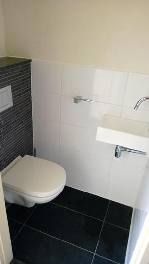 WC renovatie afgewerkt