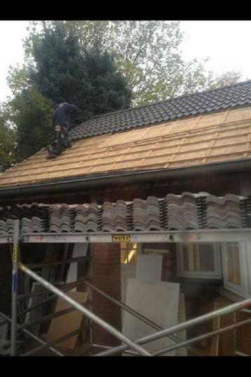 Vervanging dakpannen