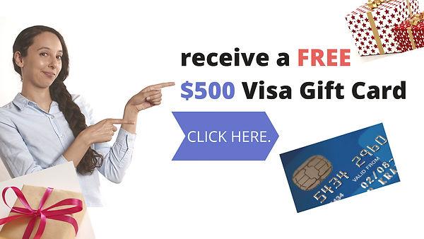 500 Visa Gift Card