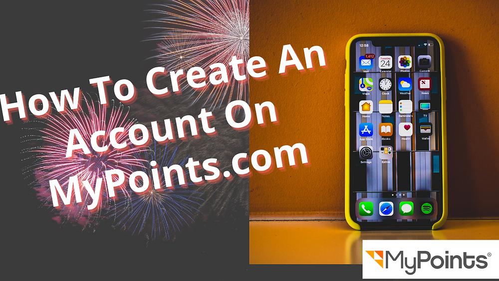 Mypoints account