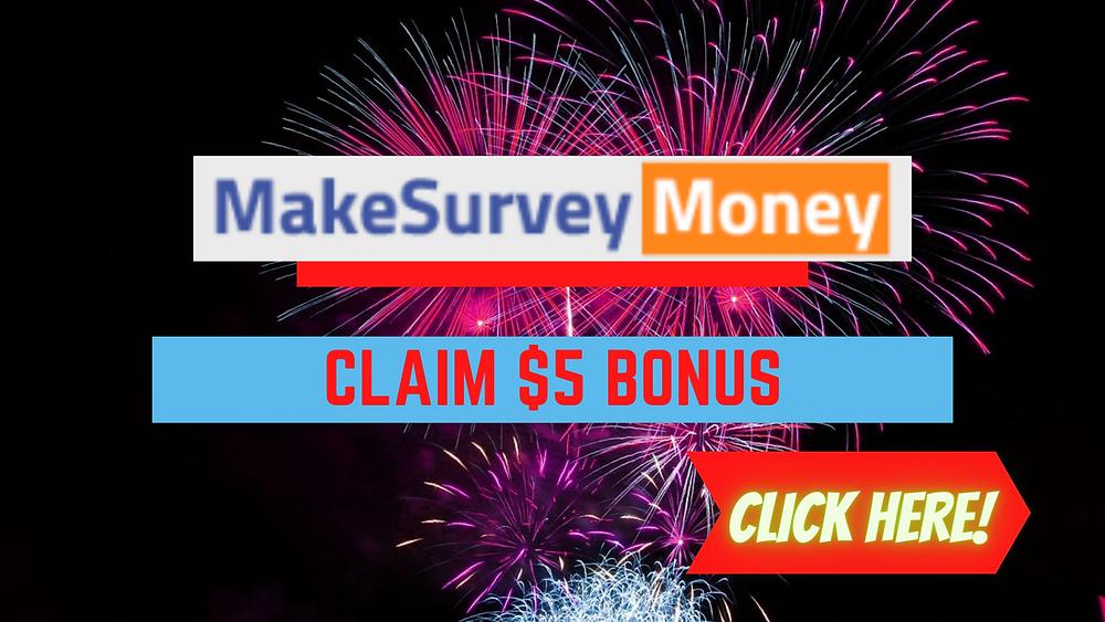 MakeSurveyNow signup bonus