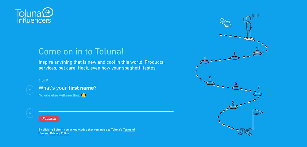 toluna homepage