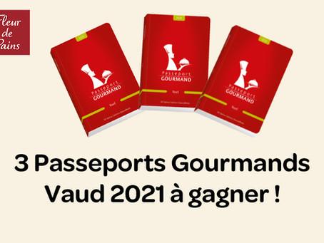 Participez à notre concours Passeport Gourmand Vaud 2021 !