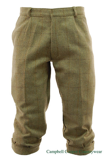 Tweed Golfing Plus Fours Breeches Trousers