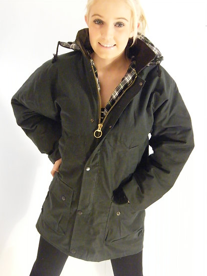 British Padded Wax Cotton Jacket