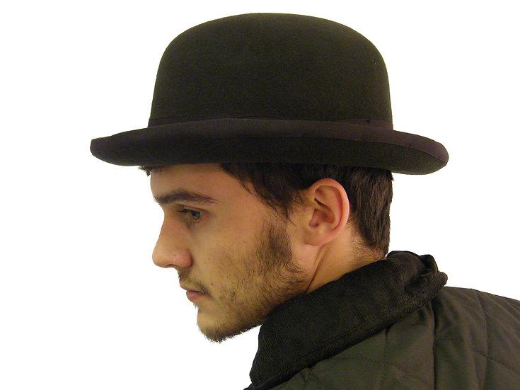 New Wool Felt Bowler Derby Hat Formal S M L XL