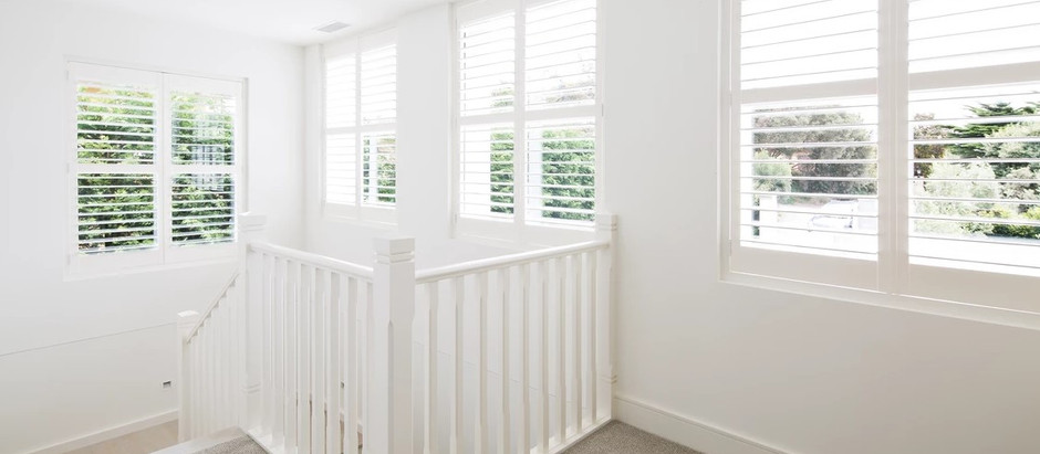 What is an L Frame for Plantation Shutters?