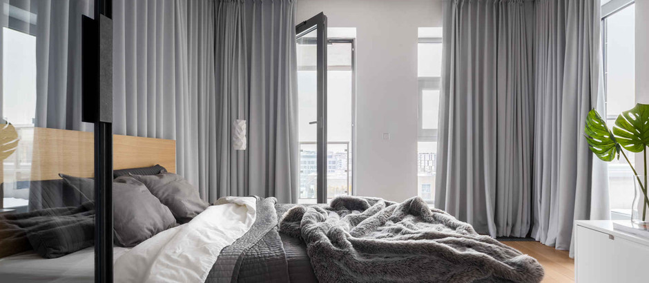 How to choose the correct length for custom curtains