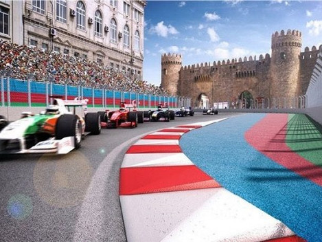 Baku Formula 1 circuit will be world's fastest street track.