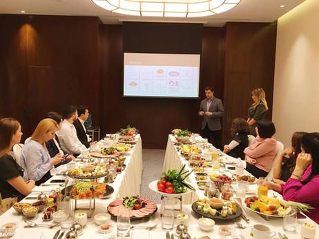 FCH пригласила туристические агентства на завтрак для презентации портфолио компаний