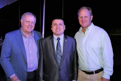 Jack Nicklaus and son, Gary
