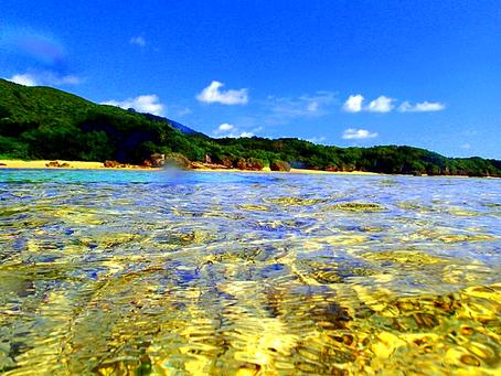 西表島で海と空を感じよう〜🏝