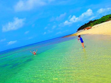 エメラルドブルーの海🐠楽園パナリ島で泳ごう🏖西表島シュノーケリング