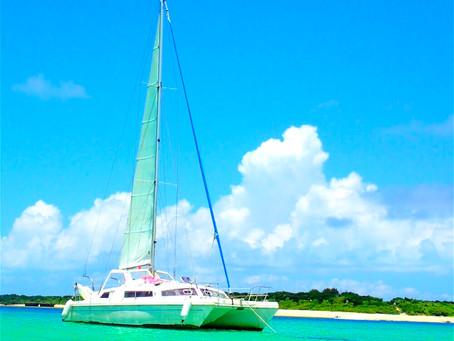 島旅で最高の贅沢を〜パナリ島シュノーケル・ヨットクルーズ⛵️西表島アクティビティ