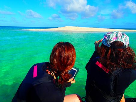 島旅で楽園パナリ島シュノーケルへ〜