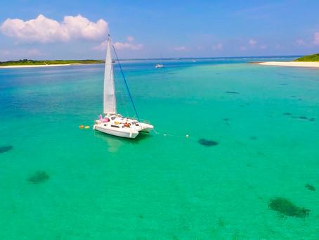 南国の楽園へ〜パナリ島カタマランヨットクルーズ