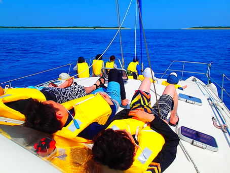 パナリ島ヨットクルーズで最高の島旅時間を過ごそう。西表島シュノーケリング