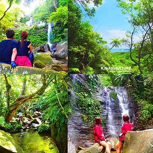 西表島 トレッキング ゲータの滝 ツアー
