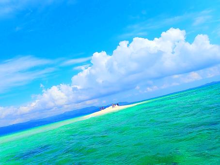 パナリ島でシュノーケル🏝