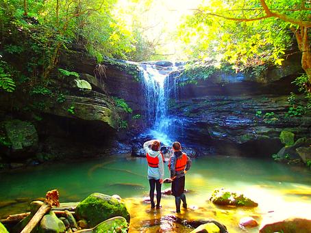 秘境の滝でエナジーチャージ✨