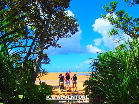 心晴れる島旅へ〜西表島SUPツアー