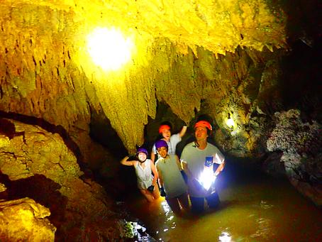 西表島で鍾乳洞探検してみよう