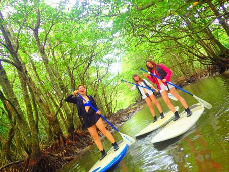 女子旅で SUP&ジャングルクルーズ〜西表島