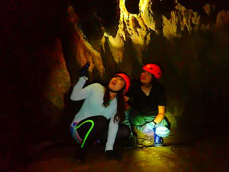 島旅で鍾乳洞を見てみよう〜⛑