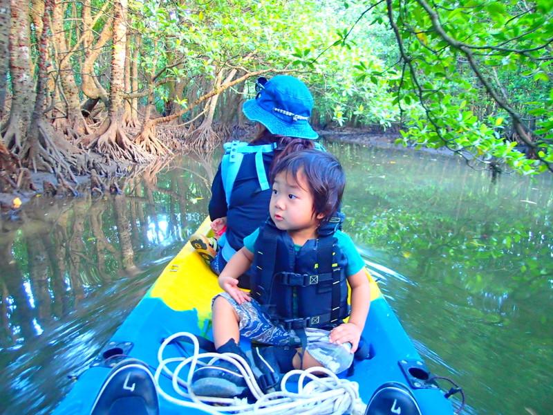 石垣島旅行で人気の西表島観光アクティビティで半日SUPツアー体験、西表島ケンガイドおすすめ半日SUPツアーで女子旅行・家族旅行・学生旅行を満喫!SUPでマングローブ&ジャングル探検で秘境パワースポット滝巡り!本物の島旅アウトドア体験を。