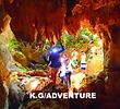 西表ツアーおすすめ女子旅・卒業旅行、西表島人気のSUPでマングローブを漕いでジャングル探検トレッキングで秘境の滝巡り、午後からケイビングで神秘の鍾乳洞探検。秘境パワースポット巡りで大自然のエナジーを体感しよう。石垣島から日帰り参加もOK!です。