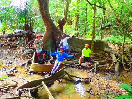 家族旅行でSUP秘境の滝巡り&鍾乳洞探検〜西表島