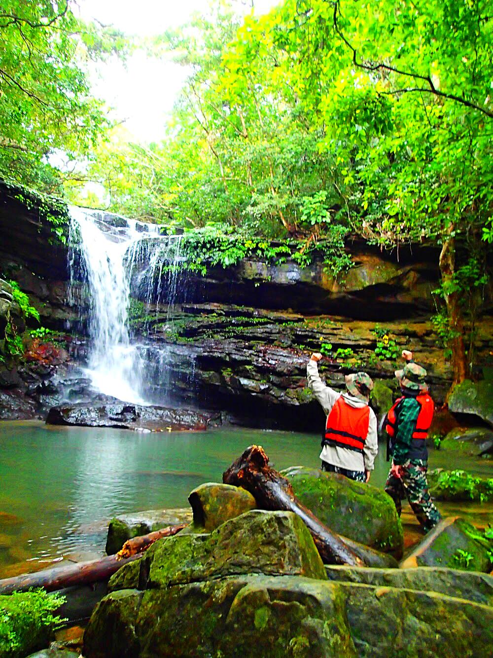 秘境の滝でエナジーチャージ✨八重山諸島・西表島