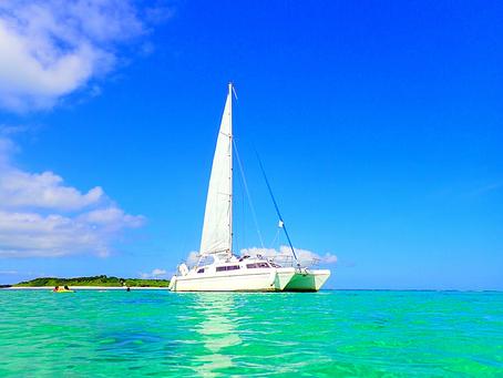 南国の楽園に行ってきました〜パナリ島ヨットクルーズ・西表島シュノーケリング