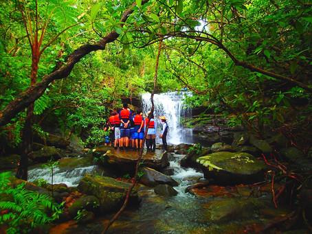 秘境の滝でエナジーチャージ🌟西表島アクティビティツアー