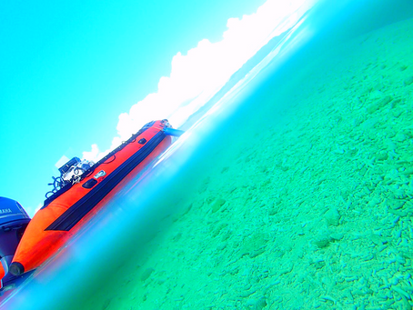 島旅でエメラルドブルーの海へ〜🌴