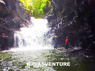 西表島で人気の島旅トレッキングツアー!パワースポット秘境マヤグスクの滝巡りを!西表島ケンガイドがおすすめする観光アクティビティ体験でマヤグスクの滝をカヤック&トレッキングで制覇しよう!イリオモテヤマネコの城と言われるマヤグスクへチャレンジできるツアーです。
