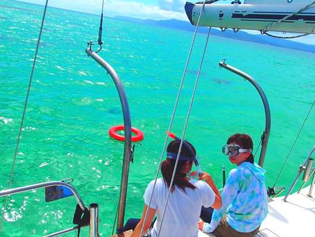 パナリブルーで泳ごう・西表島シュノーケリングツアー⛵️