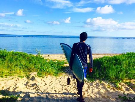 サーフィンを楽しもう〜🌴💙