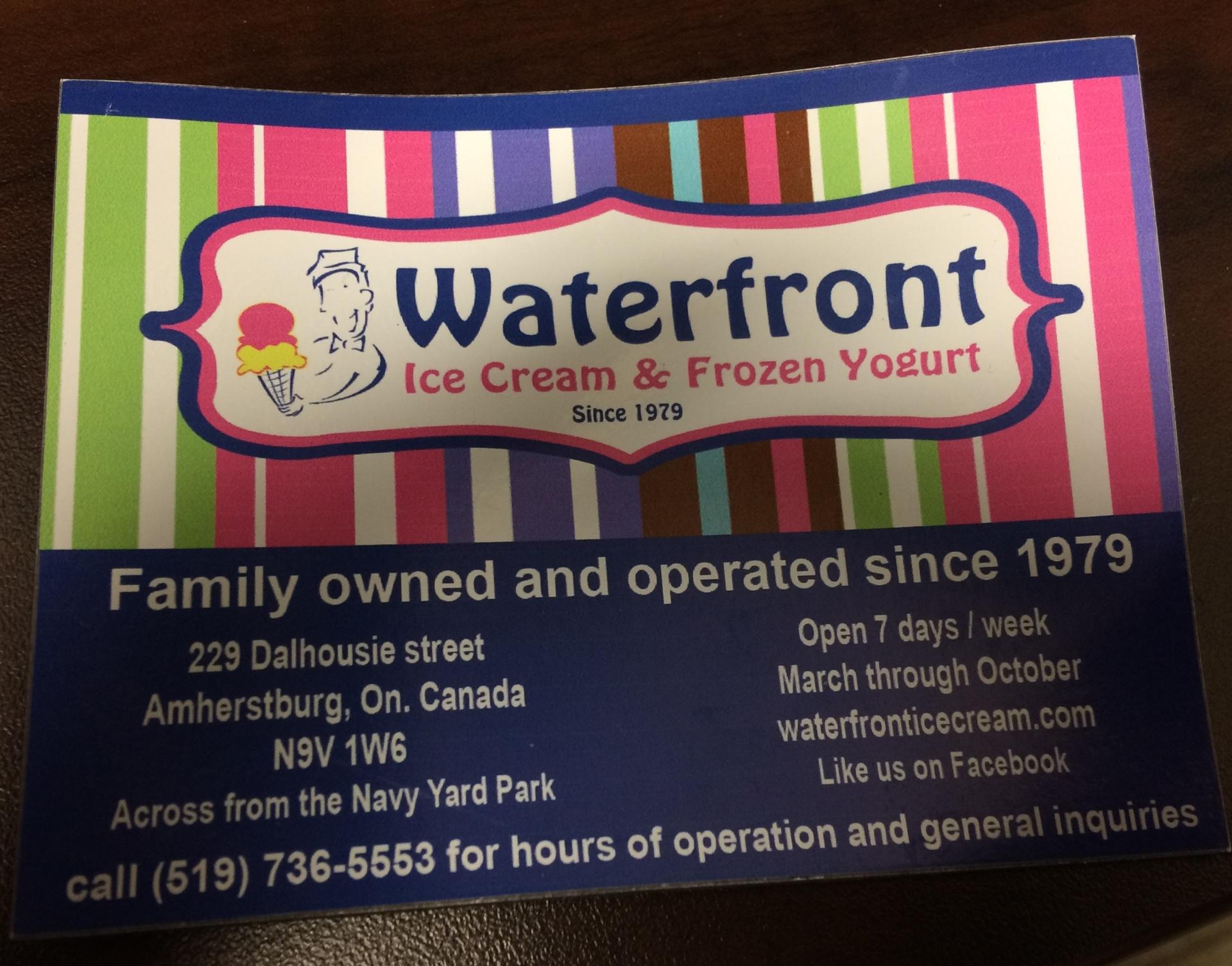Waterfront Ice Cream & Frozen Yogurt