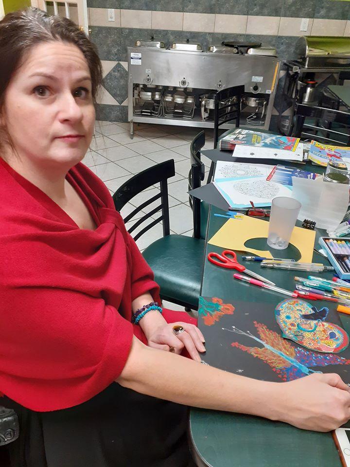 Soirée peinture avec Christine Paris (ja