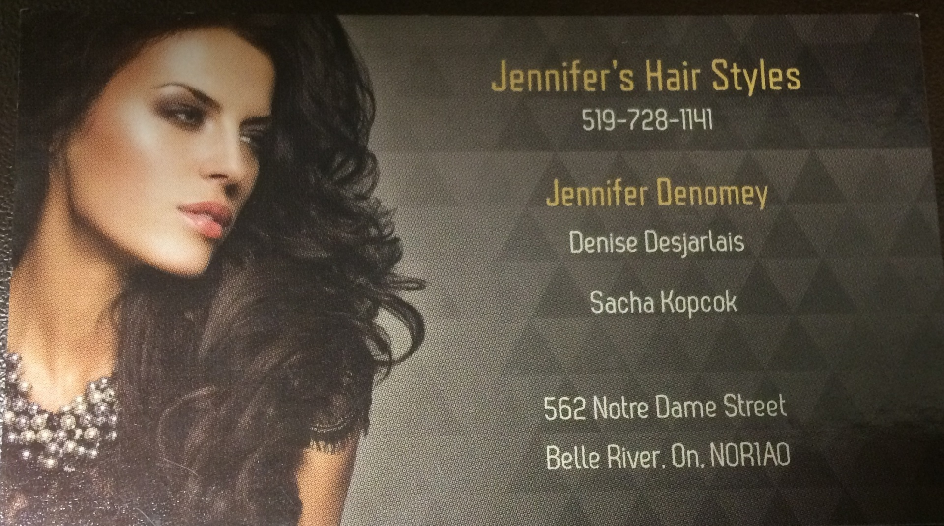 Jennifer's hair styles